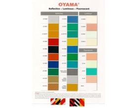 OYAMA Reflective Color Chart
