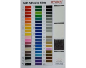 JO Event Film Color Chart